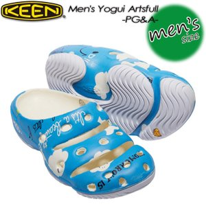 KEEN キーン Men's Yogui Artsfull x PG&A ヨギ アーツフル 1017087|spray
