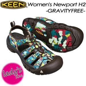 KEEN キーン Women's NEWPORT H2 x Gravityfree ニューポート H2 x Gravityfree 1017097 FREE ASIA spray