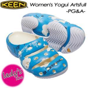 KEEN キーン Women's Yogui Artsfull x PG&A ヨギ アーツフル 1017106|spray