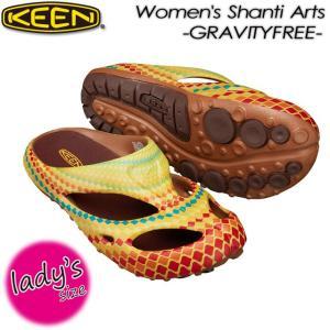 KEEN キーン Women's Shanti Arts x GRAVITYFREE ヨギ アーツフル x GRAVITYFREE 1017125 WARAMANDARA spray
