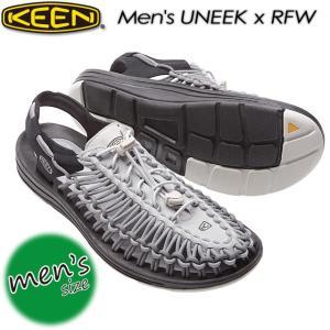 KEEN キーン Men's UNEEK x RFW ユニーク x RFW オープンエアスニーカー1017207|spray