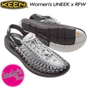KEEN キーン Women's UNEEK x RFW ユニーク オープンエアースニーカー 1017214|spray