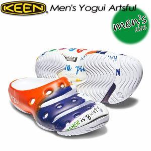 キーン KEEN 1018194 ヨギ アーツフル Men's Yogui Artsful 男性用 サンダル アウトドア|spray