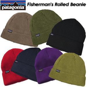 patagonia パタゴニア Fisherman's Rolled Beanie フィッシャーマンズ ロールド ビーニー 29105|spray