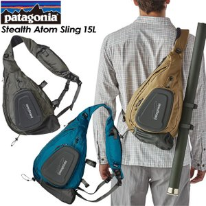 patagonia パタゴニア Stealth Atom Sling 15L ステルス アトム スリング 15L 48326|spray