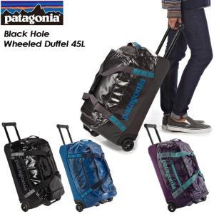 patagonia パタゴニア Black Hole Wheeled Duffel 45L ブラックホール ウィールド ダッフル45L 49376
