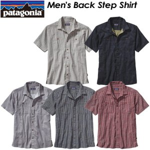 パタゴニア Patagonia  53139 Men's Back Step Shirt メンズ バック ステップ シャツ|spray