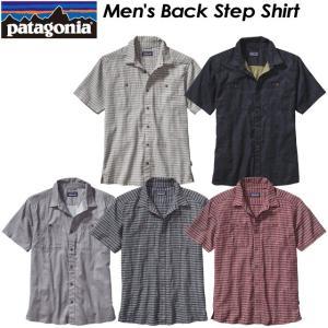 Patagonia パタゴニア Men's Back Step Shirt メンズ バック ステップ シャツ 53139|spray