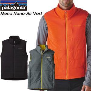 patagonia パタゴニア Men's Nano-Air Vest メンズ ナノエア ベスト 84270|spray