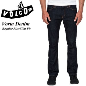 VOLCOM ボルコム Vorta Denim RNS Regular Rise Slim Fit A1931501|spray