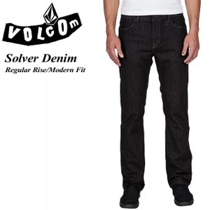 VOLCOM ボルコム Solver Denim BRI Regular Rise Modern Fit A1931503|spray
