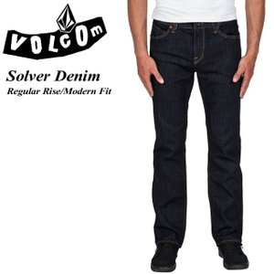 VOLCOM ボルコム Solver Denim RNS Regular Rise Modern Fit A1931503|spray