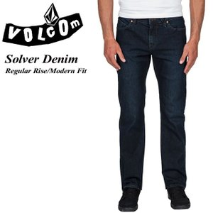 VOLCOM ボルコム Solver Denim UDB Regular Rise Modern Fit A1931503|spray