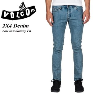 VOLCOM ボルコム 2X4 Denim CLU Low Rise Skinny Fit A1931510|spray