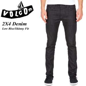 VOLCOM ボルコム 2X4 Denim BRI Low Rise Skinny Fit A1931510|spray