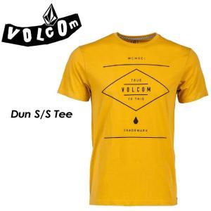 VOLCOM ボルコム Dun S/S Tee Modern fit メンズ 半袖 Tシャツ A5011601|spray
