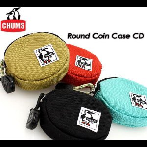 CHUMS ラウンドコインケース CD CH60-0293|spray