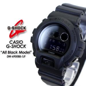 Gショック G-SHOCK  DW-6900BB-1JF All Black Model オールブラック モデル 腕時計|spray