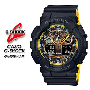 G-SHOCK Gショック  GA-100BY-1AJF|spray