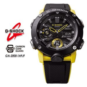 Gショック G-SHOCK GA-2000-1A9JF カーボンコアガード構造 腕時計|spray