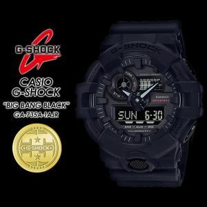 Gショック G-SHOCK GA-735A-1AJR  35th Anniversary BIG BANG BLACK ビッグバンブラック 腕時計|spray
