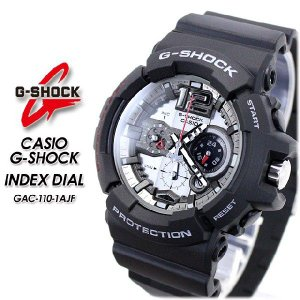 G-SHOCK Gショック INDEX DIAL  GAC-110-1AJF|spray