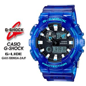 G-SHOCK Gショック G-LIDE Gライド GAX-100MSA-2AJF|spray