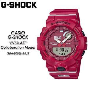 Gショック G-SHOCK GBA-800EL-4AJR EVERLAST コラボレーションモデル 腕時計|spray