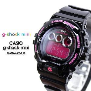 g-shock mini ミニ GMN-692-1JR black pink|spray