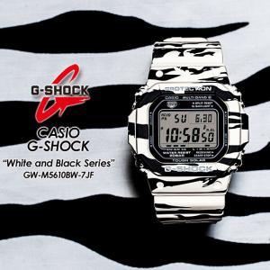 G-SHOCK Gショック  White and Black Series ホワイト&ブラックシリーズ  GW-M5610BW-7JF|spray