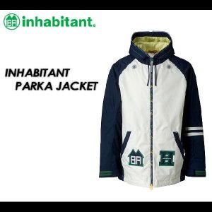 inhabitant パーカー ジャケット NAVY IH272OT10|spray