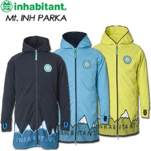 inhabitant インハビタント Mt. INH PARKA IH372KT11|spray