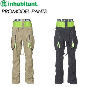 inhabitant インハビタント  PROMODEL PANTS IH372OB00|spray
