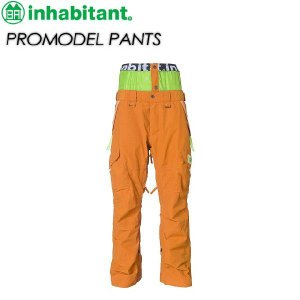 inhabitant インハビタント  PROMODEL PANTS IH372OB03|spray