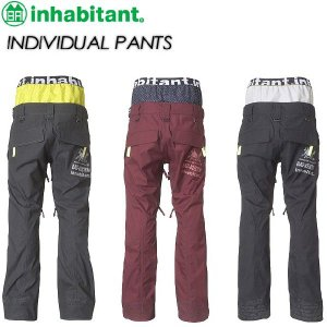 inhabitant インハビタント  INDIVIDUAL PANTS IH372OB10|spray