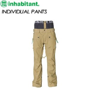 inhabitant インハビタント  INDIVIDUAL PANTS IH372OB11|spray