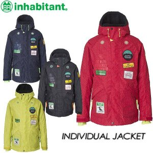 inhabitant インハビタント INDIVIDUAL JACKET IH372OT12|spray