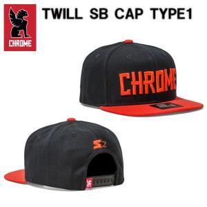クローム CHROME トゥイル スナップバック キャップ タイプ1 TWILL SB CAP TYPE1 JP013 帽子 キャップ spray