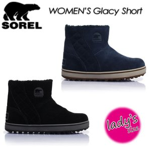 SOREL ソレル Glacy Short グレイシーショート LL5195 ブーツ レディース 女性用|spray