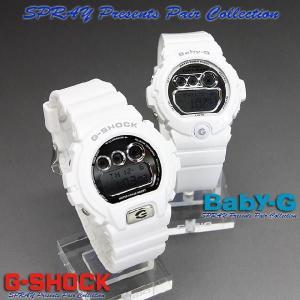 G-SHOCK Gショック スプレイ プレゼンツ ペア コレクション SPRAY-017 (DW-6900MR-7JF/BG-6900-7JF)|spray