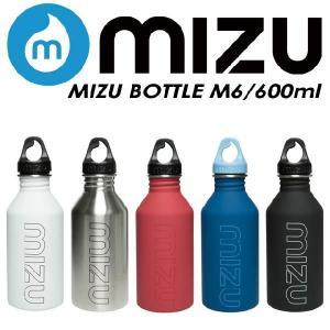 MIZU ボトル M6 (600ml) POLER ステンレスウォーターボトル|spray