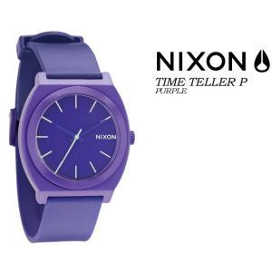 ニクソン NIXON  THE TIME TELLER P  PURPLE ユニセックス 男女兼用 腕時計|spray