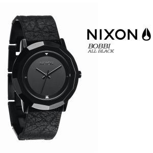ニクソン NIXON  BOBBI  BLACK レディース 女性用 腕時計|spray