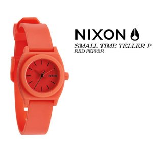 ニクソン NIXON  THE SMALL TIME TELLER P  HOT PEPPER レディース 女性用 腕時計|spray