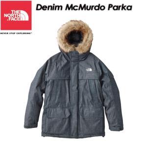 THE NORTH FACE ノースフェイス Denim McMurdo Parka デニムマクマードパーカ ND91736|spray