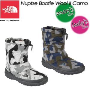 ノースフェイス THE NORTH FACE NF51685 Nuptse Bootie Wool 2 Camo  ヌプシ ブーティー ウール 2 カモ|spray