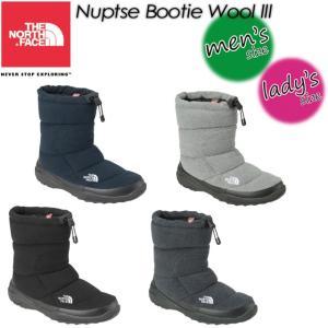 THE NORTH FACE ノースフェイス Nuptse Bootie Wool 3  ヌプシ ブーティー ウール 3 NF51786|spray