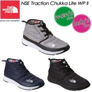 THE NORTH FACE ノースフェイス NSE Traction Chukka Lite WP 2 【ヌプシトラクション チャッカ ライトウォータープルーフ 2 NF51793|spray
