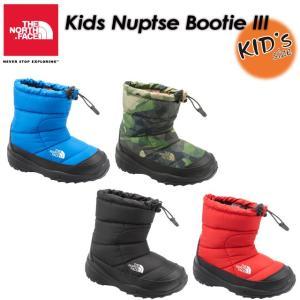 THE NORTH FACE ノースフェイス  Kids Nuptse Bootie III ヌプシ ブーティー III キッズ 長靴 ブーツ 子供用  NFJ51682|spray