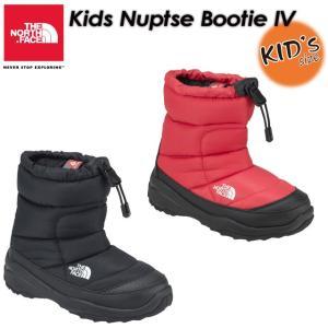 THE NORTH FACE ノースフェイス  Kids Nuptse Bootie 4 ヌプシ ブーティー 4 NFJ51781|spray